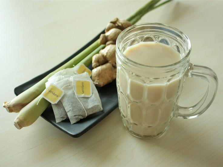 Wedang Teh Susu Jahe – Ginger Milk Tea