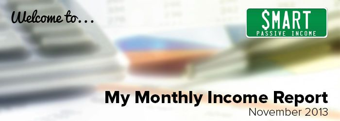 November Monthly Income Report #patflynn #SPI #passiveincome