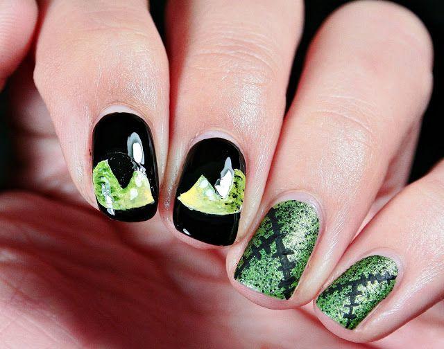 Malý koutek krásy: Halloweenská inspirace :)