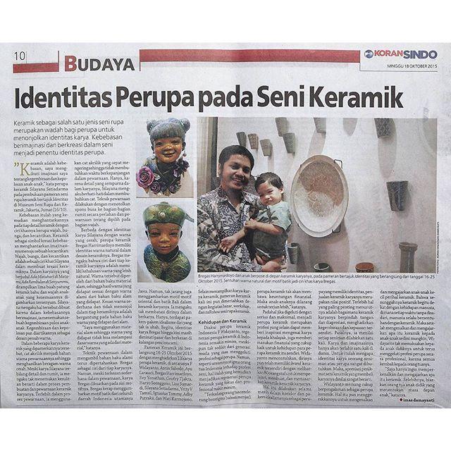 We also get featured in Koran Sindo (Minggu, 18 Oktober… by @pamerankeramik.id - Square Pics