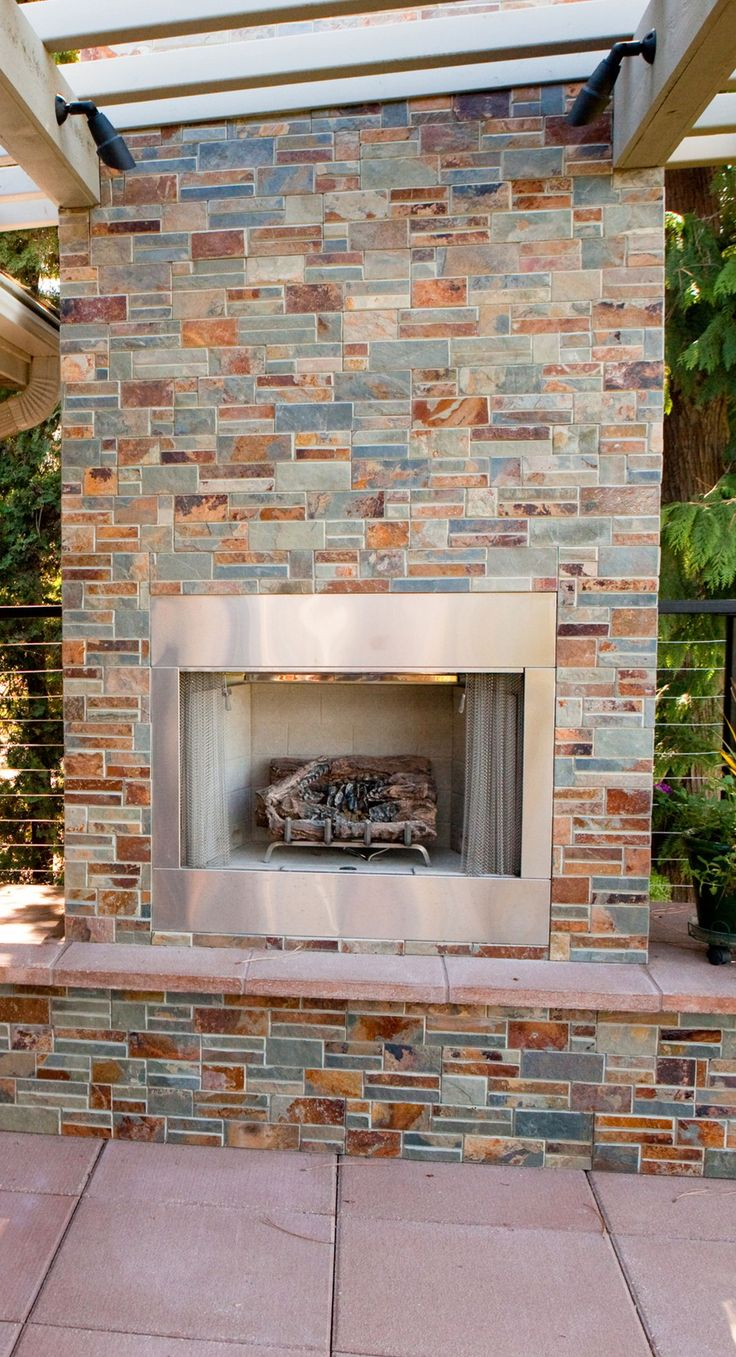 the 25 best craftsman outdoor fireplaces ideas on pinterest