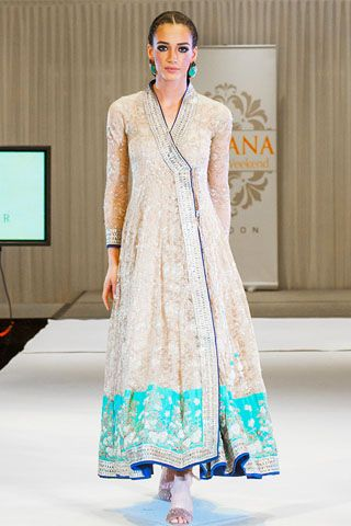 Nida Azwer Collection at Faisana Fashion Show London 2014