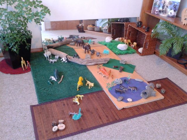 "Zoo small world from Tu Tamariki - Play Based Learning ("",)"