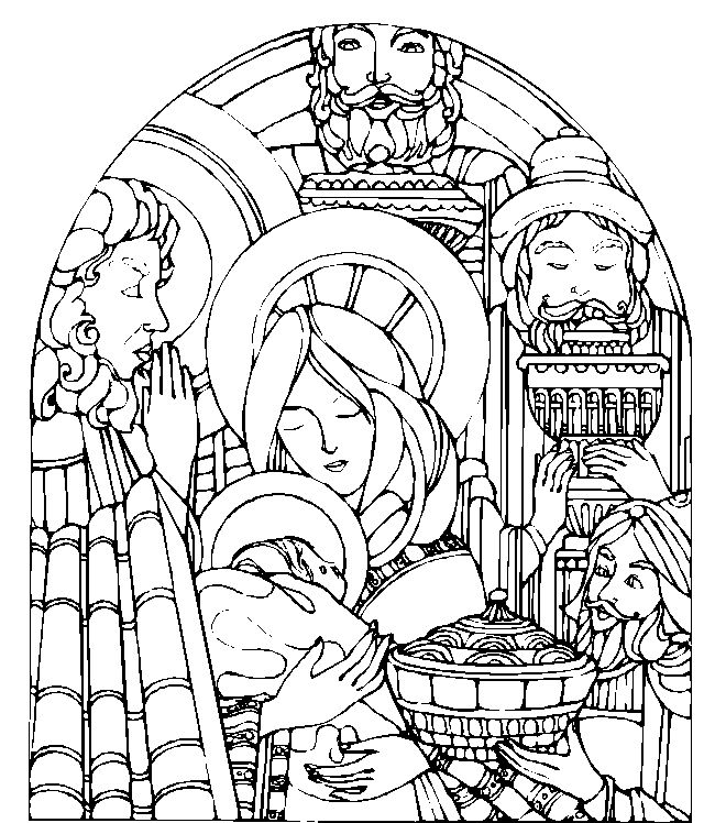 134 best Catholic Coloring Pages images on Pinterest  Coloring