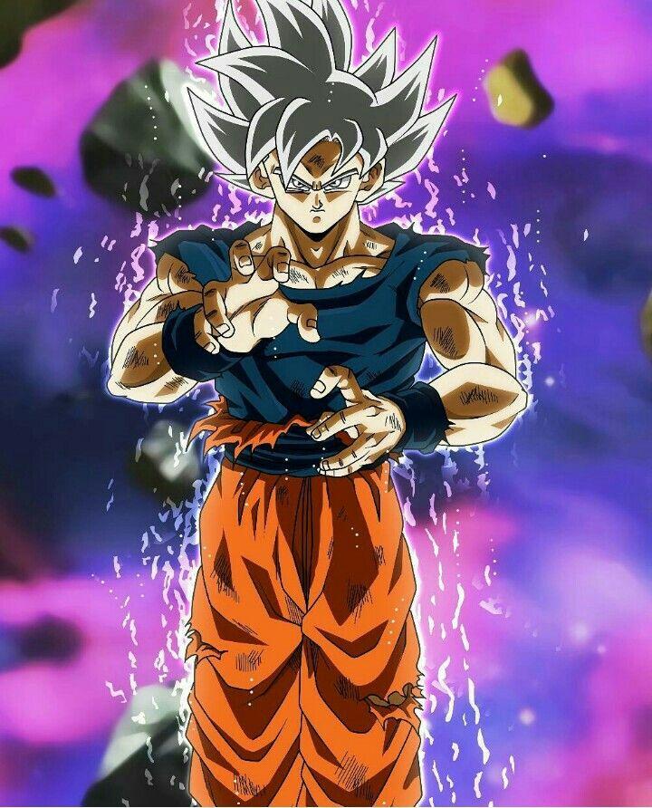 Goku Ultra instinto.