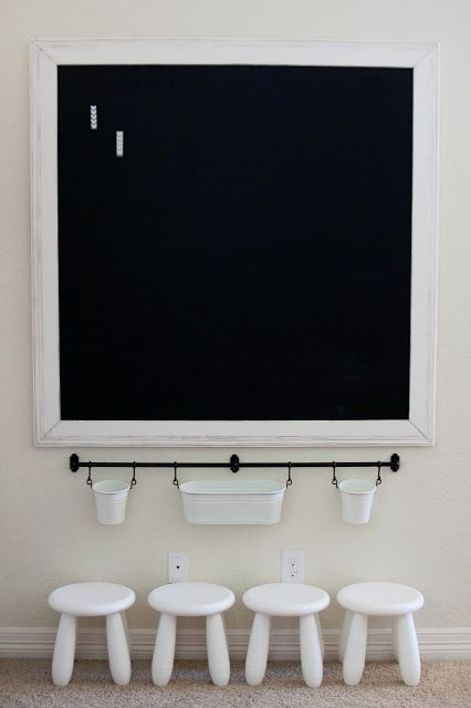 How To & How NOT To Build A Framed Magnetic Chalkboard {Tutorial}