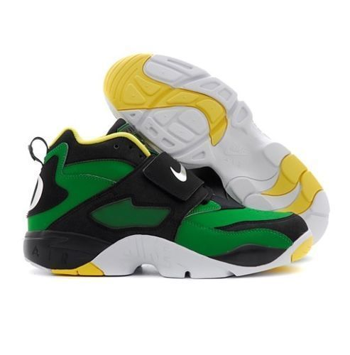 Hot Nike Men's Air Max Actualizer Ii Basketball Shoes Black Green Yellow Size 105