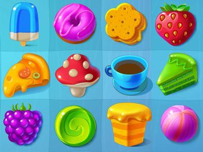 Sweety Swipe icon set