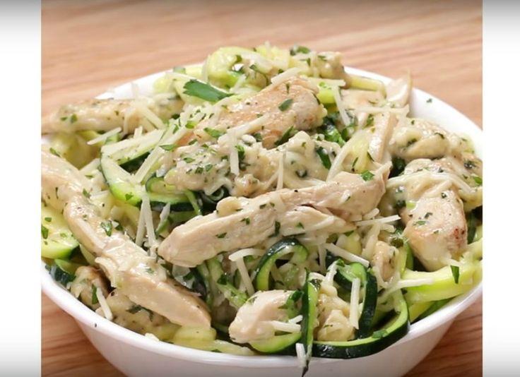 Recept voor Courgette Noedels