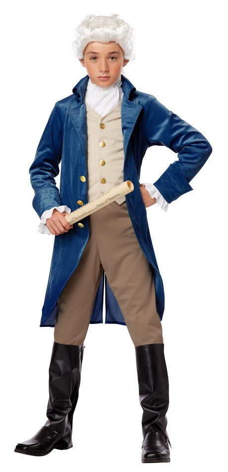 Child's Founding Father Costume - George Washington, Thomas Jefferson - Candy Apple Costumes - New Costumes for 2014
