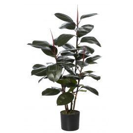 Artificial Rubber Plant