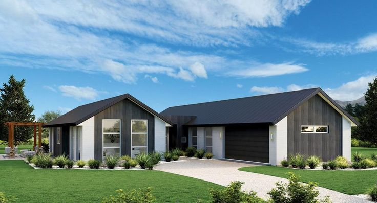 Stonewood NZ The Pavillion - two separate and distinct wings. Formal and family lounges are positioned either side of a kitchen in one wing – master and family bedrooms complete the other. A study nook, separate laundry and separate laundry