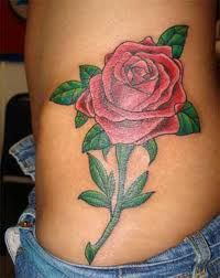 Rose Tattoo And Rose Tattoo Meanings-Rose Tattoo Ideas And Designs