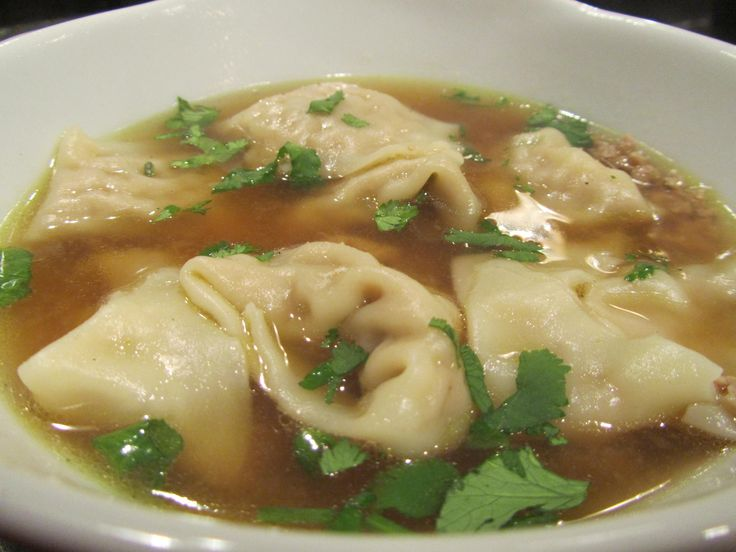 Wonton soup is usually on the light side, but if you have guys with high metabolism, there's only one way to serve soup as the sole dish for dinner: beef---er, chicken---it up. Though this recipe m...