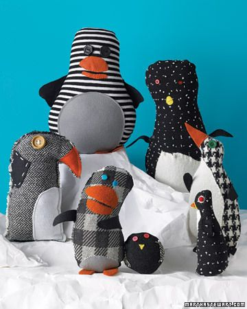 DIY Stuffed Animals from Kids' Drawings by marthastewart #Plushies #Drawings #marthastewart