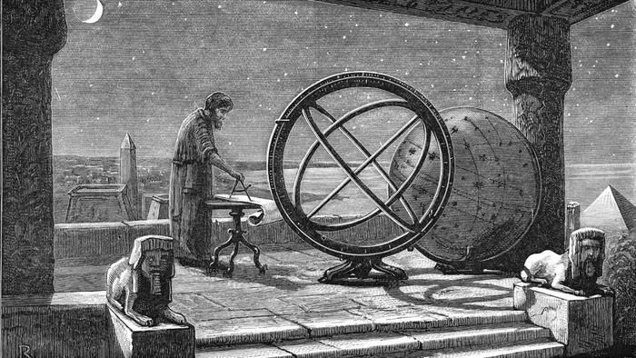 Hipparchus is many times refered to as the father of trigonometry. He first used his trigonometric methods for astronomy. #hipparchus #trigonometry #history