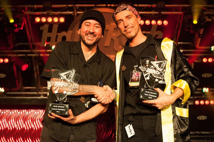 PHOTOS: HARD ROCK'S TOP BARTENDERS DUKE IT OUT FOR CHANCE TO TAKE TOP SPOT IN BARocker BATTLE