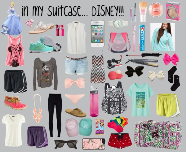 Image result for disney world backpack essentials