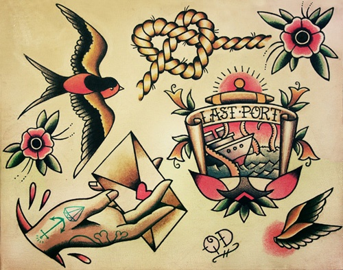Print available at www.parlortattooprints.com