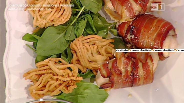 La ricetta del pollo goloso con spaghetti di patate di Natalia Cattelani del 6 ottobre 2015 - La prova del cuoco