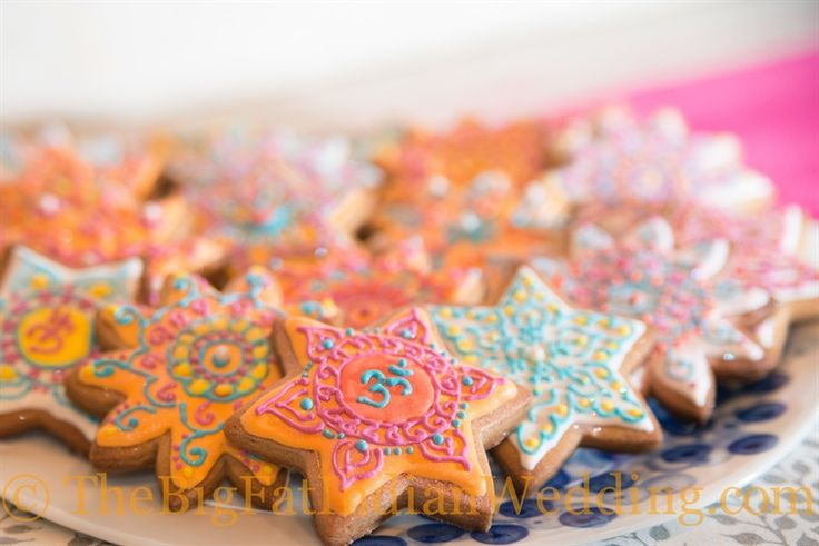 Henna inspired cookies, must try for the mehndi party