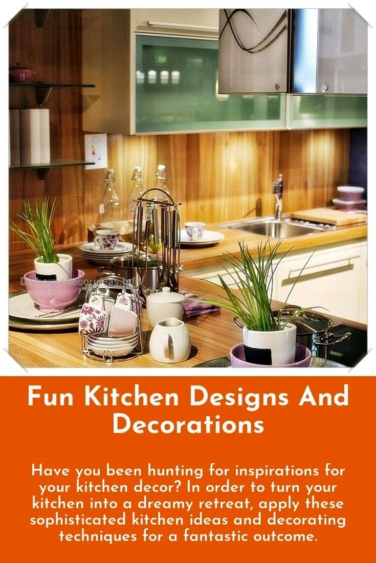 easy and fun kitchen style and decoration ideas all set to start rh pinterest com