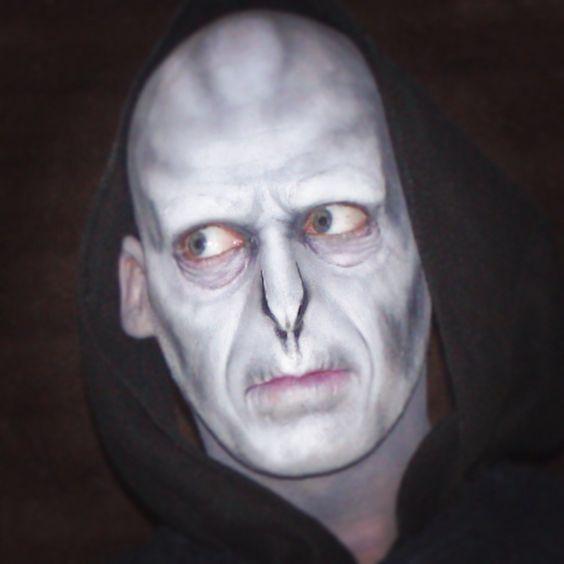 Voldemort makeup Harry Potter