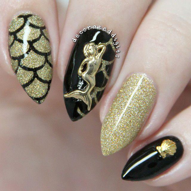 Nail Art Decoration - Mermaid