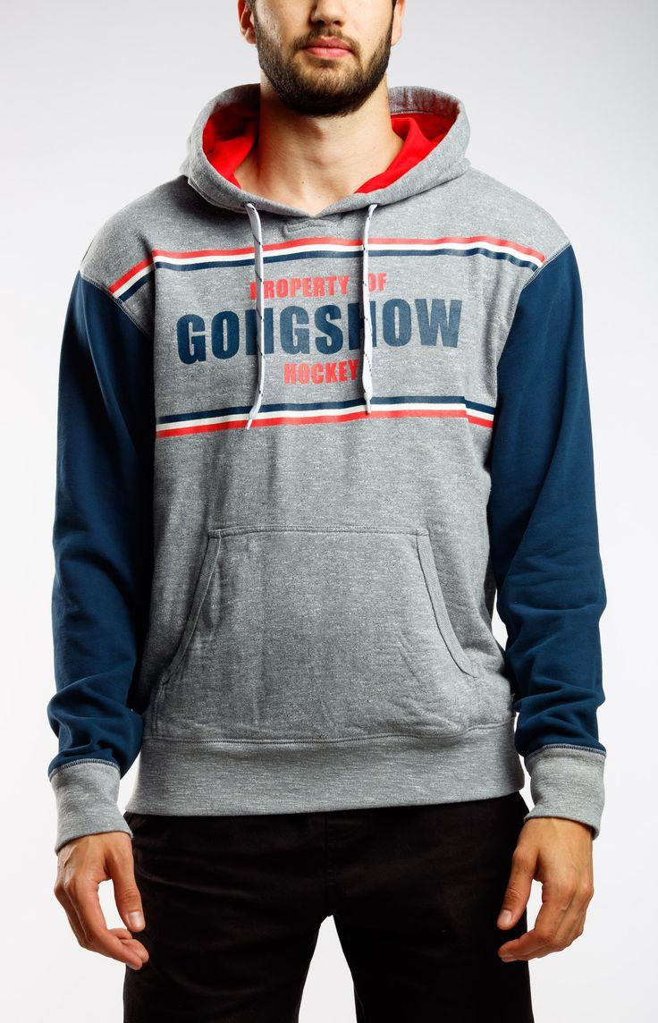 Neutral Zone Grey Gongshow Hockey Sweater | GONGSHOW Hockey Lifestyle Apparel
