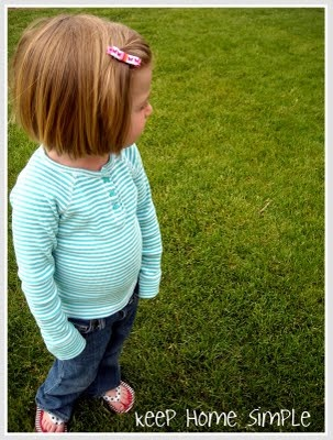 Keep Home Simple: Sweet Ribbon Barrettes - How To