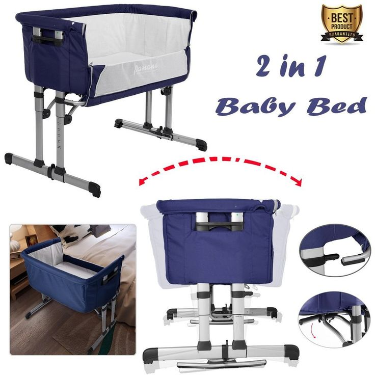 2 in 1 Next to Me Baby Swing Crib Bedside Sleeping Cot Infant Cradle Rocking Bed | Baby, Nursery Decoration & Furniture, Cots & Cribs | eBay!
