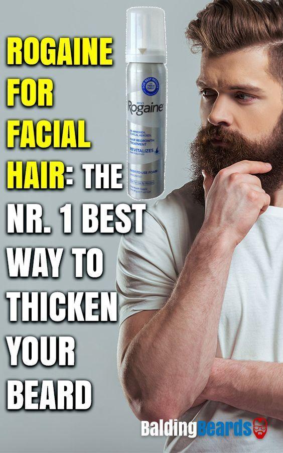#rogaine #minoxidil #beard