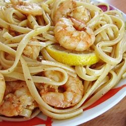 Old Bay Shrimp Scampi by ateaspoonofhappiness