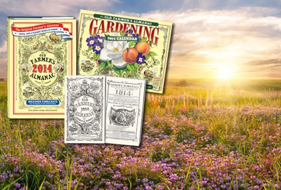 Old farmers almanac weather forecasts gardening moon - Farmers almanac gardening calendar ...