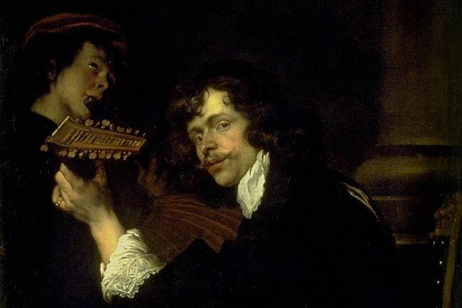 """Two Musicians"" - Peeter Franchoys, (?)"