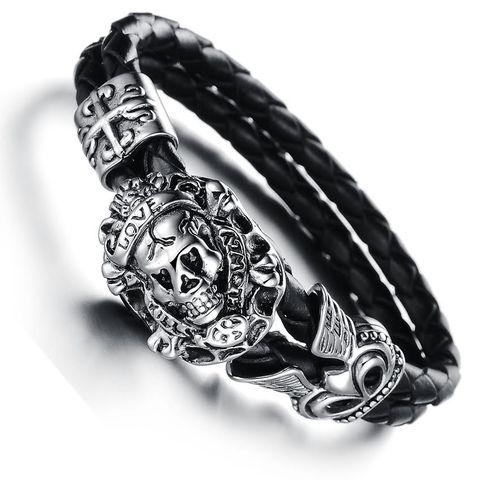 Pirate Skull Men's Bracelet – Florence Scovel – 1   – Primitive