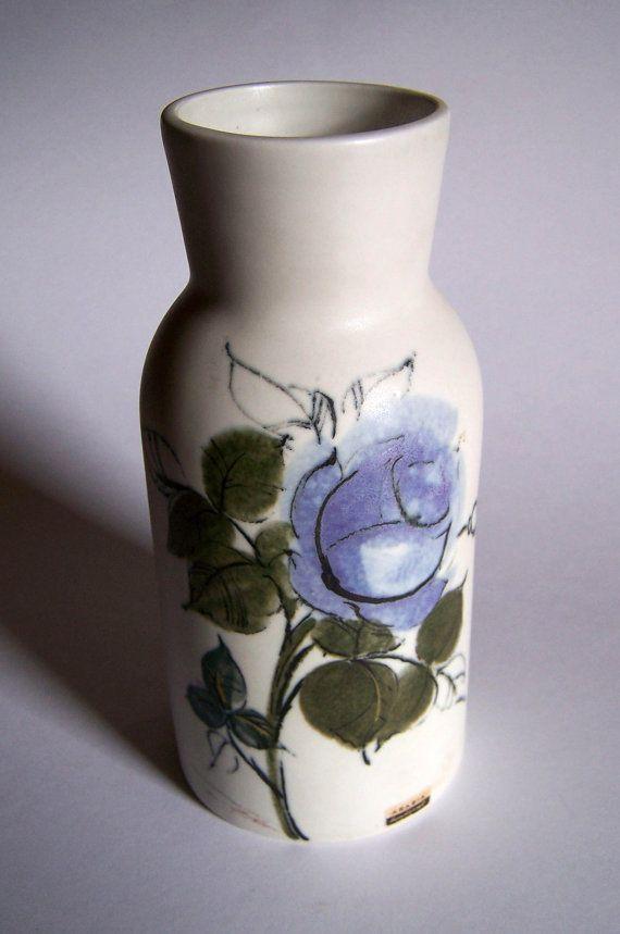 Arabia Finland Vase  Mid Century Finnish Design by Collectabills