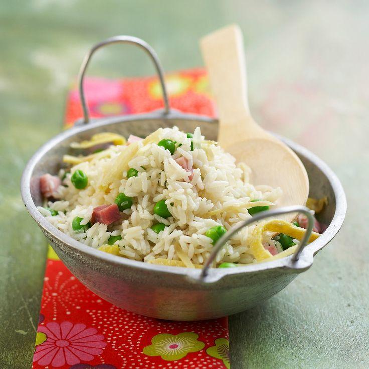 Découvrez la recette du riz cantonais maison