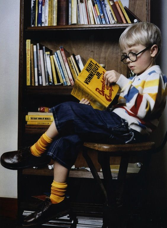 Kids as David Hockney by Ophelia Wynne for Milk Magazine