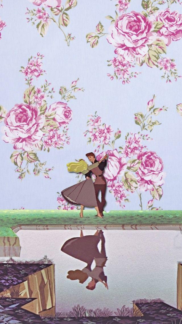 DisneyThis. DisneyThat. - Phone Backgrounds→ Sleeping Beauty