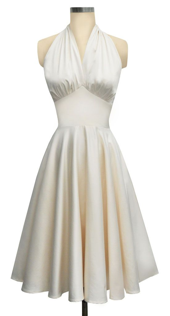 Trashy Diva | Dottie Dress I don't know if it comes in the steel grey but we would all look like Marilyn Monroe!!:)