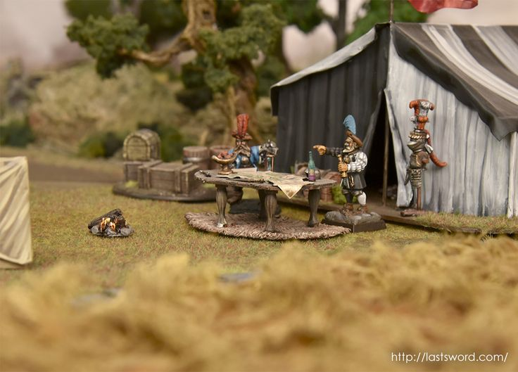 Empire Ostland warcamp for Warhammer Fantasy and Mordheim (Empire in flames)