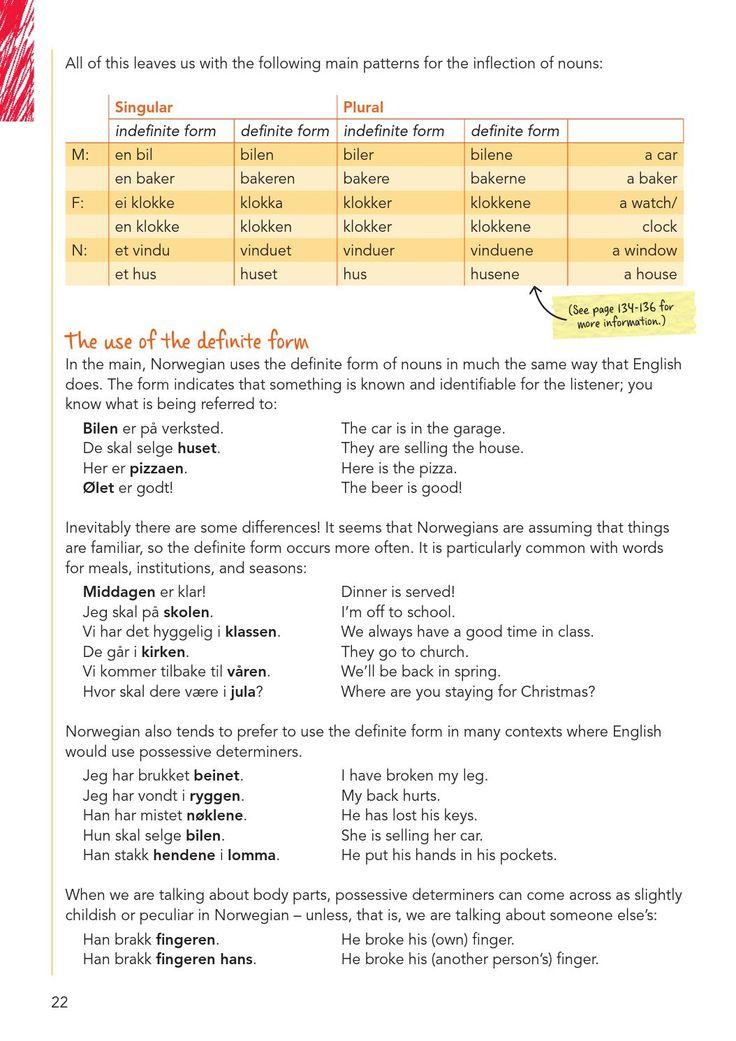 ISSUU - Exploring Norwegian Grammar by Cappelen Damm