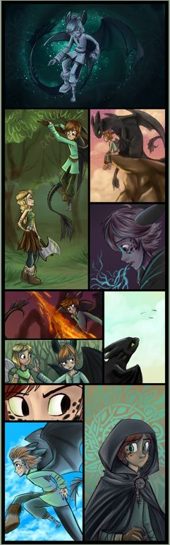 I love the idea of Dragon!Hiccup. It can be kind of weird or cheesy, but when done right it's AWESOME.