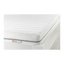 MALFORS Foam mattress - 160x200 cm, medium firm/white - IKEA