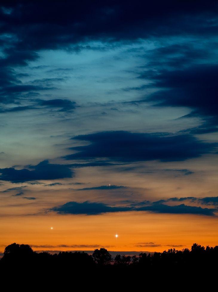 Venus, Jupiter And Mercury Taken by Marek Nikodem on May 26, 2013 @ near Szubin, Poland