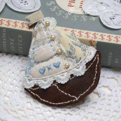 'Little Voyages' Brooch by Gracie's Garden Bazaar | Flickr