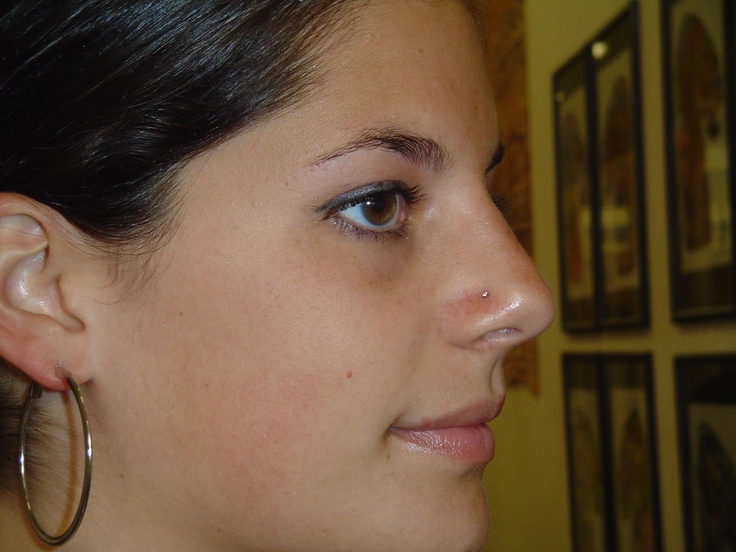 Small nose piercing - Apple ford of red lion