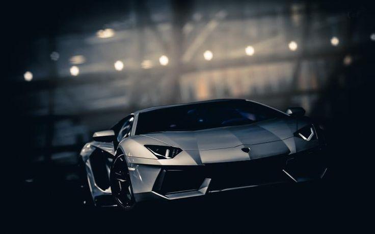 Free HD Wallpapers for your computer: Lamborghini Avendator grey