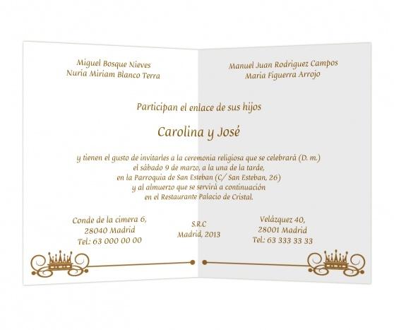 Realeza #invitaciones #boda